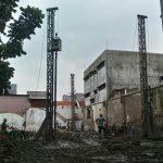 pengerjaan bore pile gedung arssip